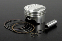 Piston 4 soupapes Modernworks, 58mm axe 14-Pit-bike
