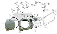 Part list moteur 149 UPOWER-Pit-bike