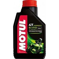 Huile moteur 4T 5100 MOTUL 10W40 thechnosynthese 1L-Pit-bike