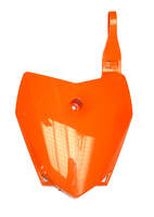 Plaque avant orange BUCCI BR1-F6 et LXR 2014-Pit-bike