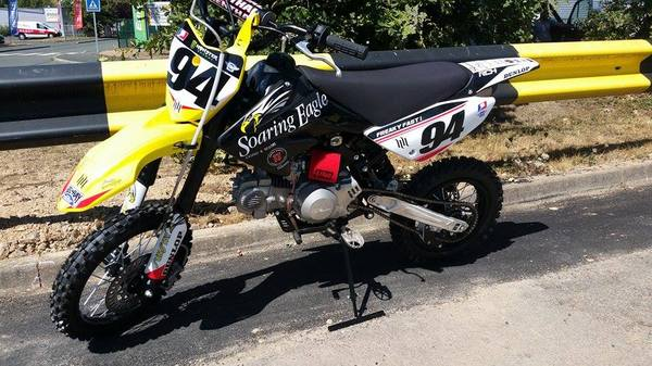 DIRT BIKE PITSTER PRO X5 150  -occasion 2015-