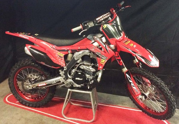 HONDA CRF250 UPower RED RIM STS