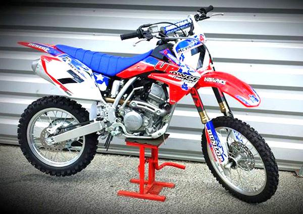 honda cadre rouge   4626   pieces pit bike et dirt bike upower dirt