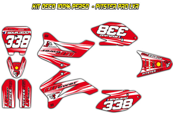 Kit stickers PITSTERPRO LX150R -242GRAPHICS-
