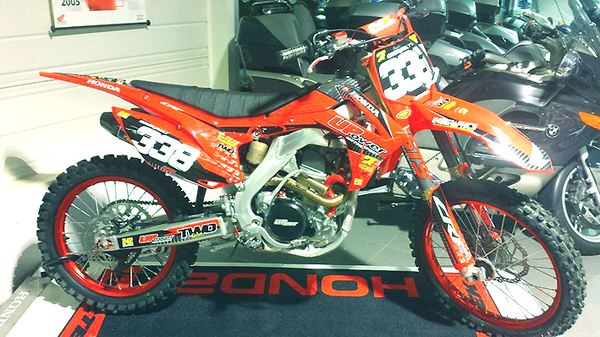 HONDA CRF250 UPower  RED RIM