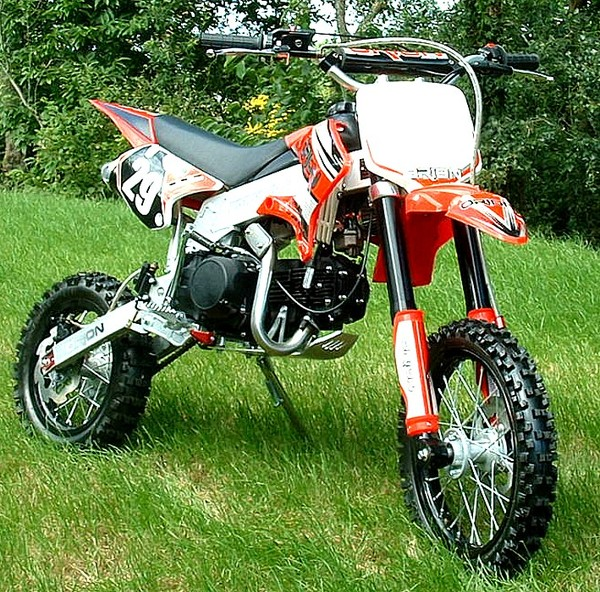 125 ORION AGB29, 10Ch, roues alu 14'' et 12''