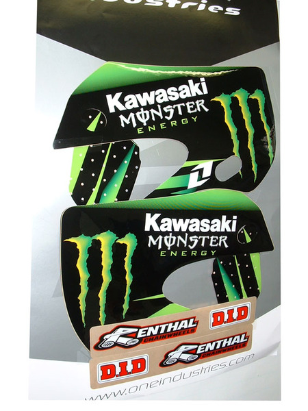 Kit stickers type KLX110 BUD-MONSTER