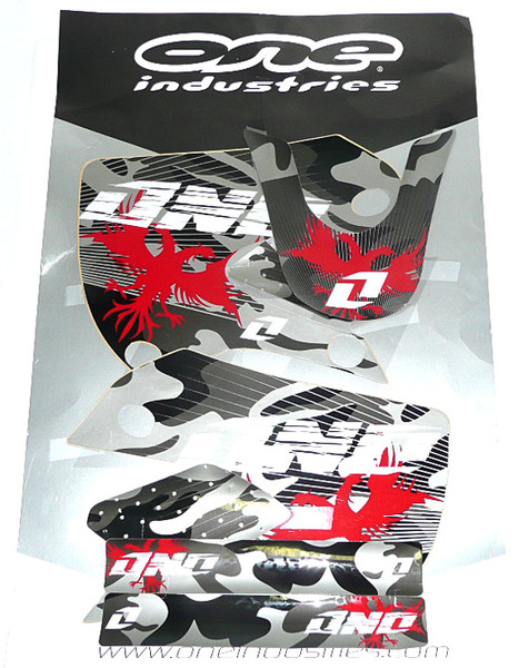 Kit stickers KLX CAMO BLACK