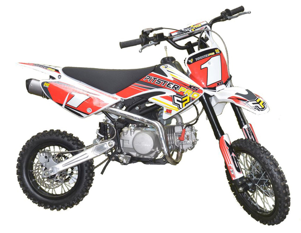 DIRT BIKE PITSTER PRO X5 140 rouge