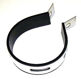 collier de pot d 39 chappement inox diam tre 85mm chappement partie cycle 1585 pieces pit. Black Bedroom Furniture Sets. Home Design Ideas
