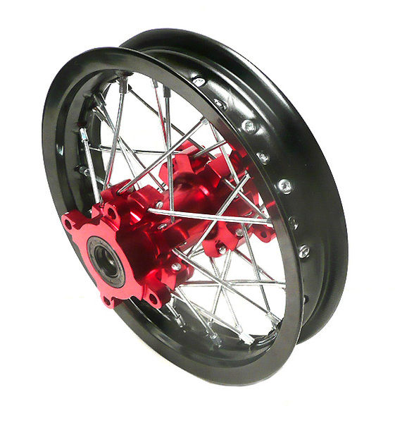 Roue arrière pit bike 10'' RED-ONE