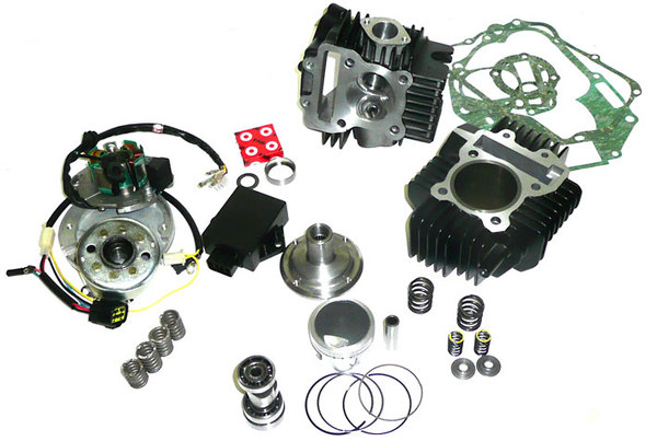 Kit moteur UPOWER stage 3 pour 150 YX/RSR/YCF/GUNSHOT