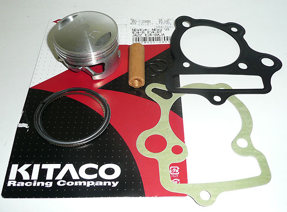 Piston KITACO 124SE -54mm axe 13-