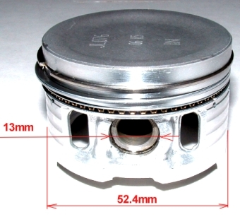Piston, segments Honda pour Jialing 53.4mm