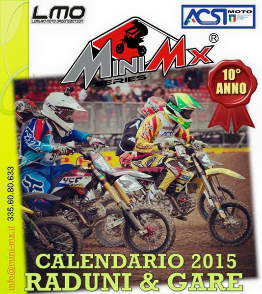Championnat Italie Mini Mx Series 2015