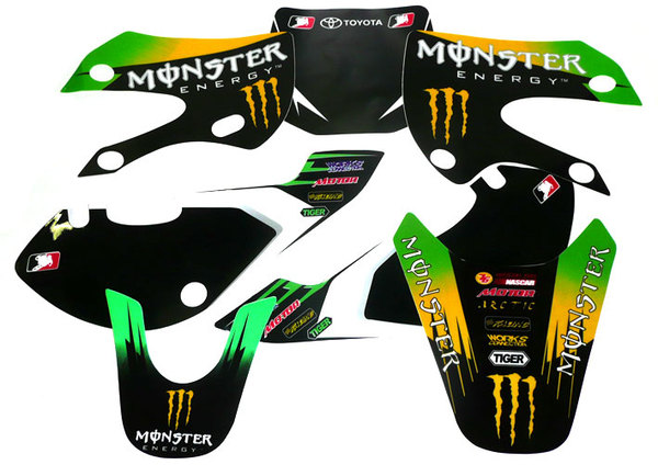 Stickers Monster III POISON KLX110/SP4/FUSION/RSR08/9...