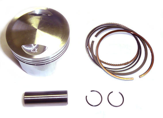 Piston et segments DT150E Daytona -57mm-