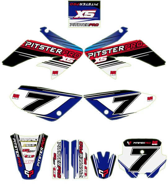 Kit stickers PITSTERPRO X5 2014
